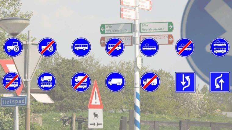 Autorijischool Martijn Bakker - Blog - Nieuwe verkeersborden
